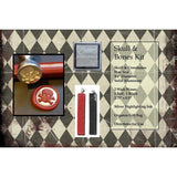 "Classic 3/4"" Wax Seal Stamp Gift Set<br> Choose Your Favorite Design or Initial - LetterSeals.com - 5"