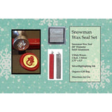 "Classic 3/4"" Wax Seal Stamp Gift Set<br> Choose Your Favorite Design or Initial - LetterSeals.com - 3"