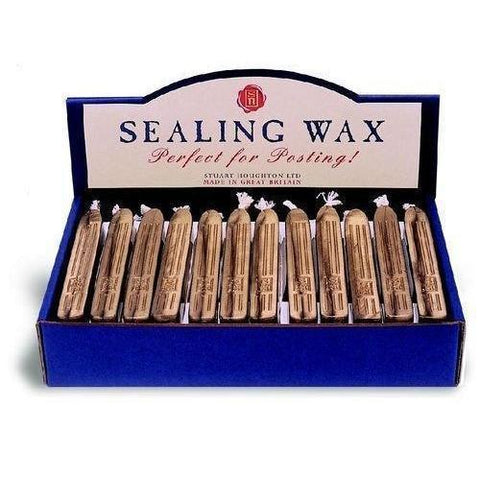 Stuart Houghton Sealing Wax - Boxed Set of 36 sticks - LetterSeals.com - 1