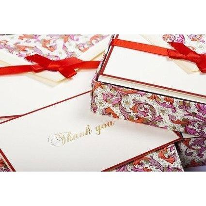 Thank You Cards | 8 Patterns | Rossi 1931 Classica Italiana-LetterSeals.com
