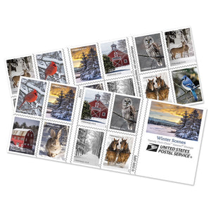 Us Mail 2021 Christmas Stamp Styles Forever Stamps A9uddi4dxe6d8m