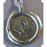 Seattle Design <br>Silver Charm & Chain-LetterSeals.com
