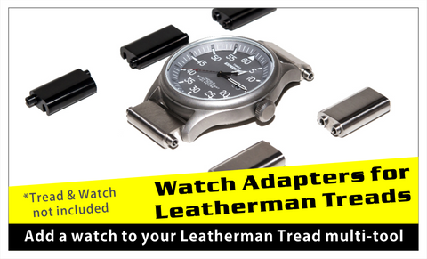 Leatherman Tread watch links sold here