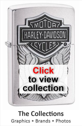 zippo lighter range of collectables