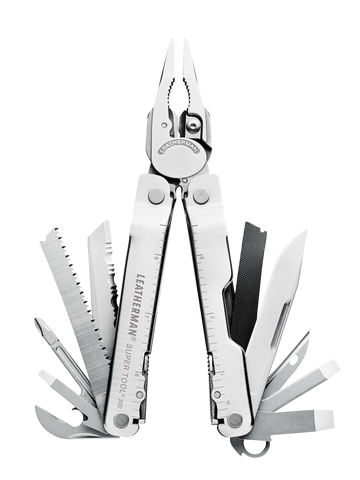 Engravable | Leatherman Supertool 300. Ideal handyman tool.