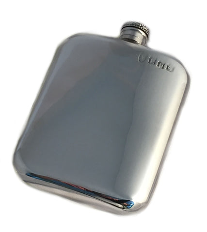 Personalised Pewter 6oz Purse FLask