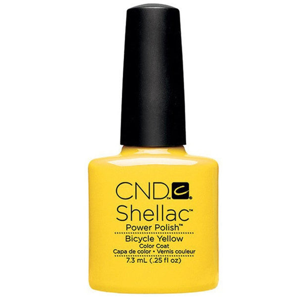 CND Shellac - Bicycle Yellow