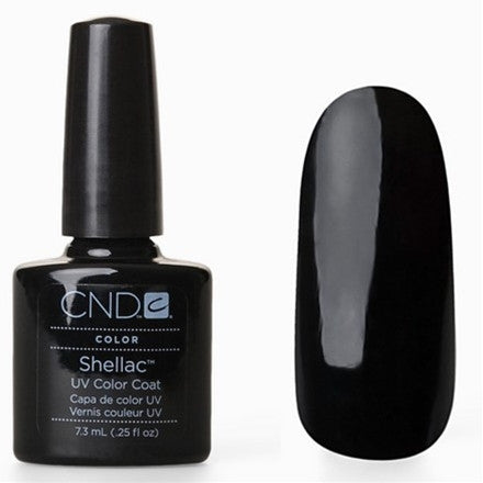 CND Shellac - Black Pool