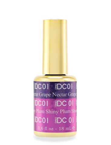 DND DC MOOD GEL - 01 NECTAR GRAPE TO SHINY PLUM - C0088