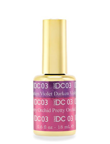 DND DC MOOD GEL - 03 DARKEN VIOLET TO PRETTY ORCHID