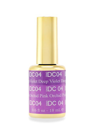 DND DC MOOD GEL - 04 DEEP VIOLET TO ORCHID PINK