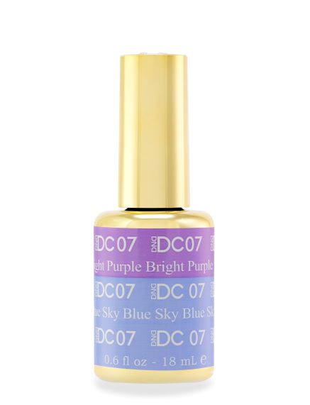 DND DC MOOD GEL - 07 BRIGHT PURPLE TO SKY BLUE