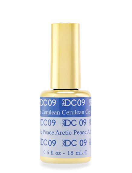 DND DC MOOD GEL - 09 CERULEAN TO ARTIC PEACE - C0088
