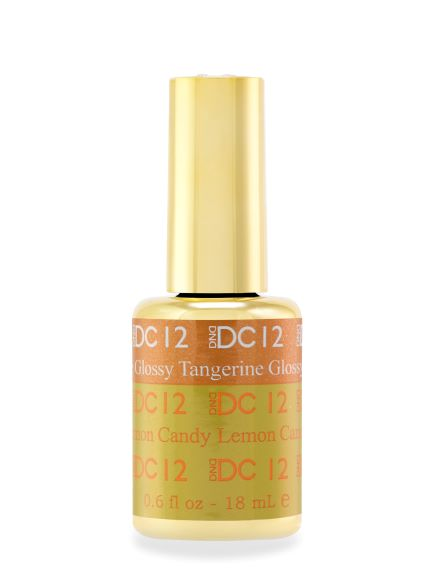 DND DC MOOD GEL - 12 TANGERINE TO GLOSSY LEMON CANDY - C0088