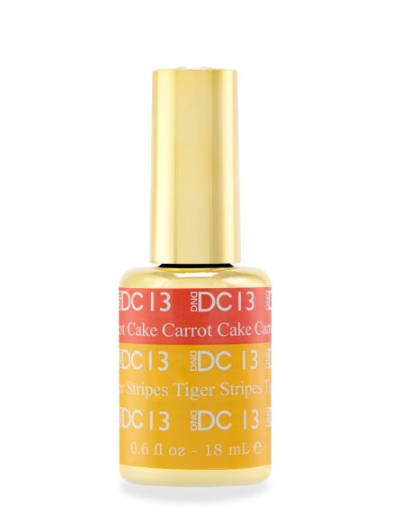 DND DC MOOD GEL - 13 CARROT CAKE TO TIGER STRIPES