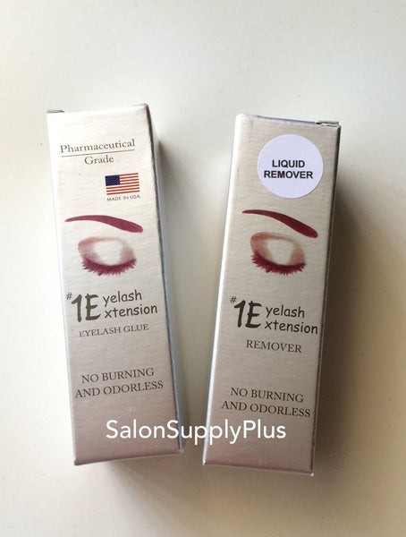 #1 Eyelash Extension Duo set - Adhesive + Remover