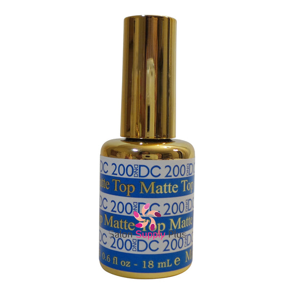DND DC Gel #200 Matte Top Coat .6 fl oz