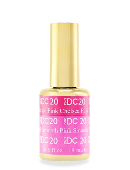 DND DC MOOD GEL - 20 CHELSEA PINK TO SMOOTH PINK