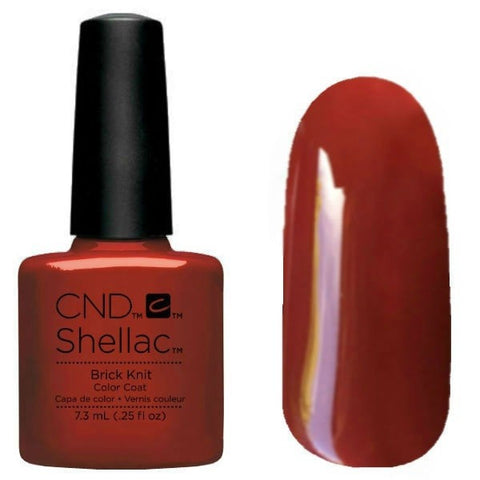 CND Shellac - Brick Knit