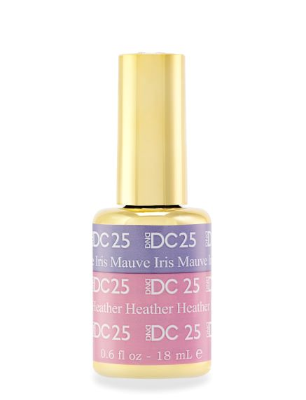 DND DC MOOD GEL - 25 MAUVE IRIS TO HEATHER - C0088