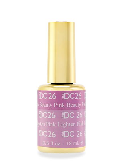 DND DC MOOD GEL - 26 BEAUTY PINK TO LIGHTEN PINK - C0088