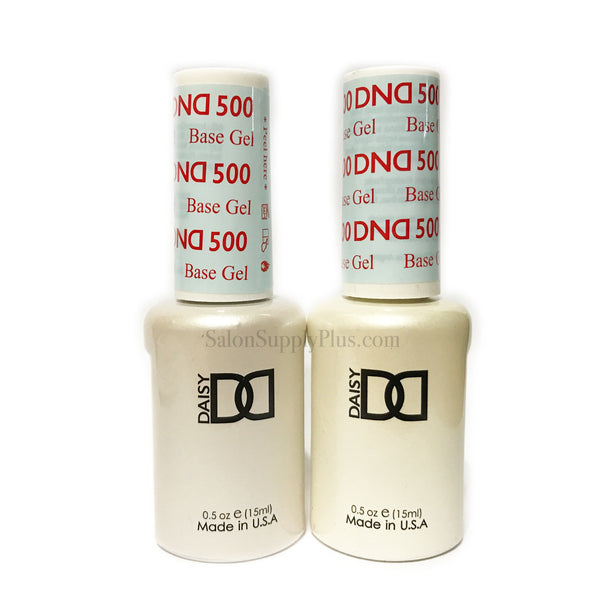2 Pack - DND Gel Base Coat #500 .5 fl oz