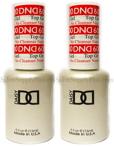 2 Pack DND Gel Top Coat #600 .5 fl oz