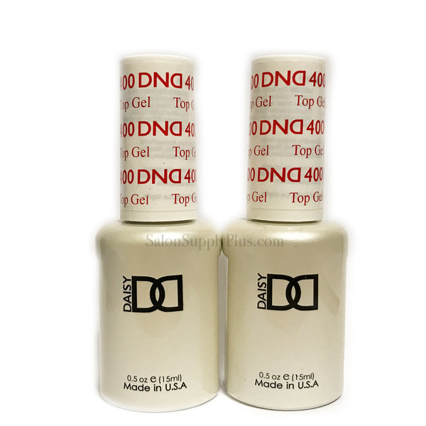 2 Pack DND Gel Top Coat #400 .5 fl oz
