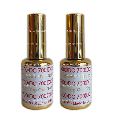 2 Pack DC Gel Top Coat #700 .6 fl oz