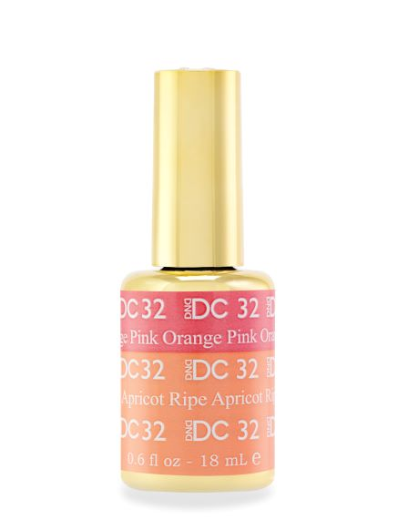 DND DC MOOD GEL - 32 ORANGE PINK TO RIPE APRICOT - C0088