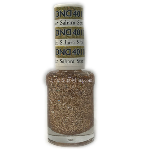 401 - DND Lacquer - Golden Sahara Star