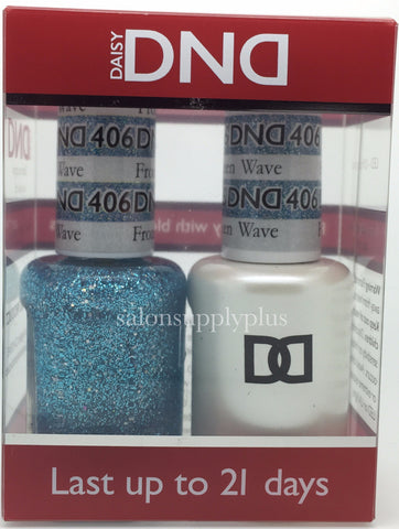 406 - DND Duo Gel- Frozen Wave