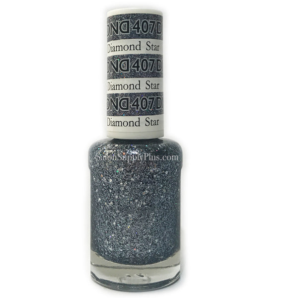 407 - DND Lacquer - Black Diamond