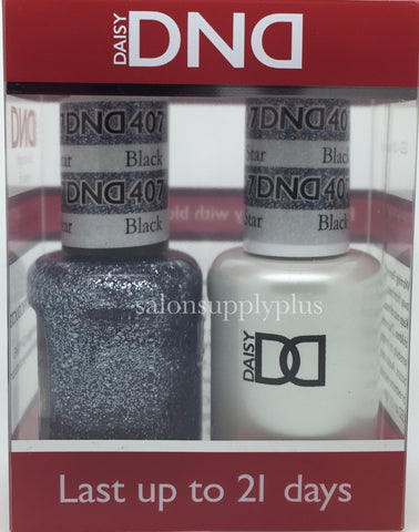 407 - DND Duo Gel- Black Diamond