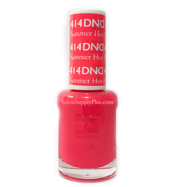 414 - DND Lacquer - Summer Hot Pink