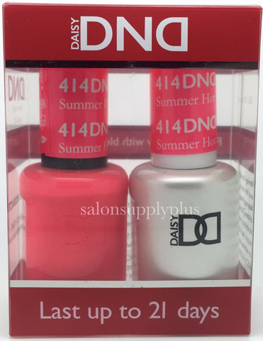 414 - DND Duo Gel- Summer Hot Pink