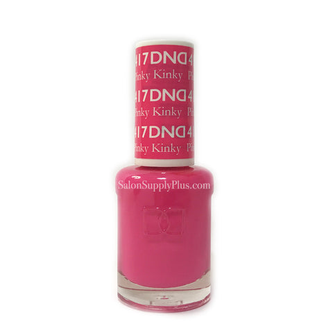 417 - DND Lacquer - Pinky Kinky