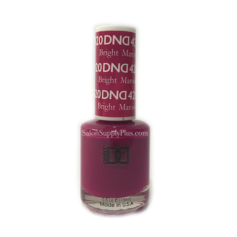 420 - DND Lacquer - Bright Maroon