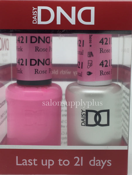 421 - DND Duo Gel - Rose Petal Pink