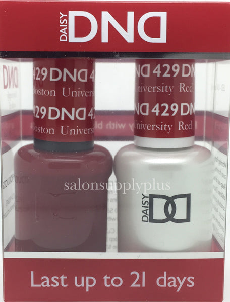 429 - DND Duo Gel - Boston University