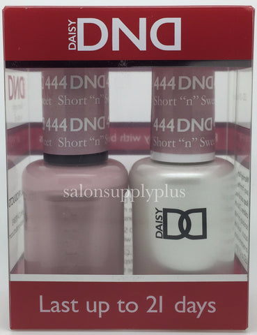 444 - DND Duo Gel - Short N Sweet