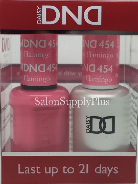 454 - DND Duo Gel - Flamingo Pink