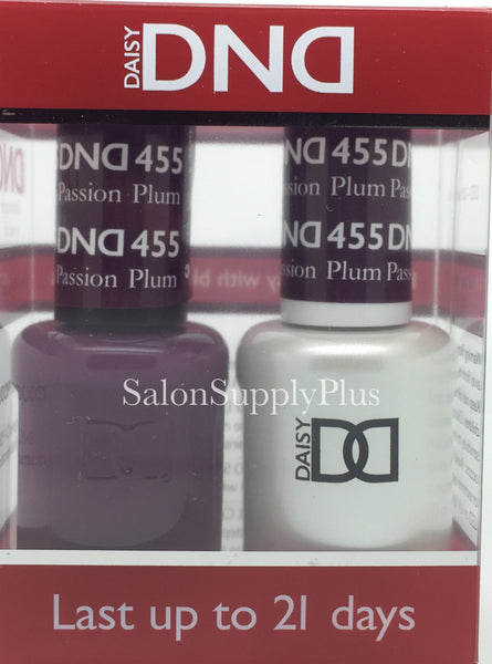 455 - DND Duo Gel - Plum Passion