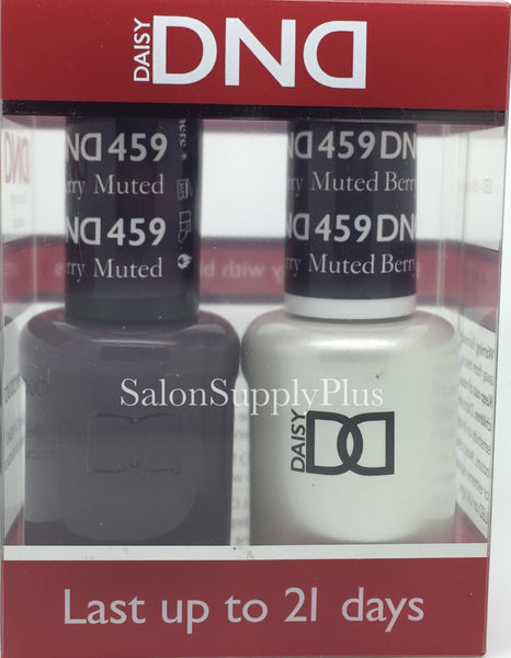 459 - DND Duo Gel - Muted Berry