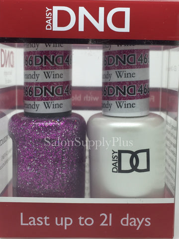466 - DND Duo Gel - Brandy Wine