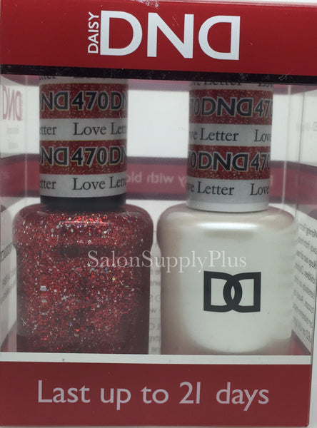 470 - DND Duo Gel - Love Letter