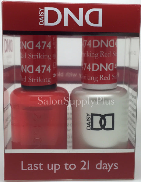 474 - DND Duo Gel - Striking Red