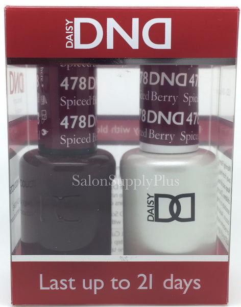 478 - DND Duo Gel - Spiced Berry