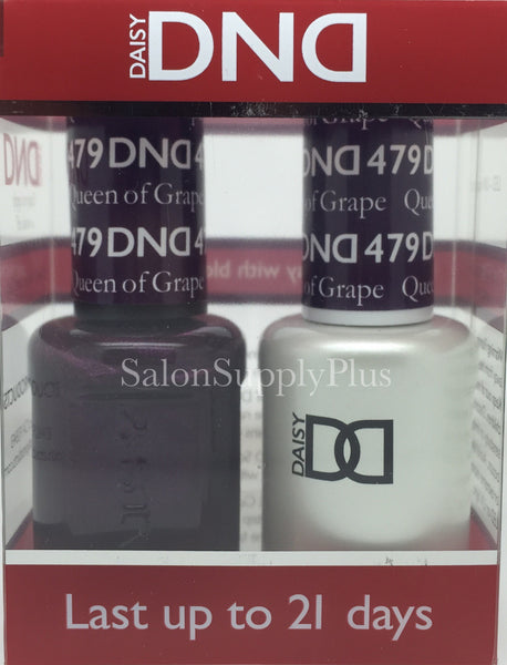 479 - DND Duo Gel - Queen of Grape