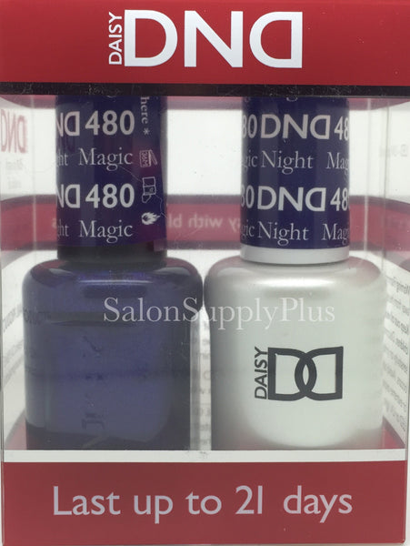 480 - DND Duo Gel - Magic Night